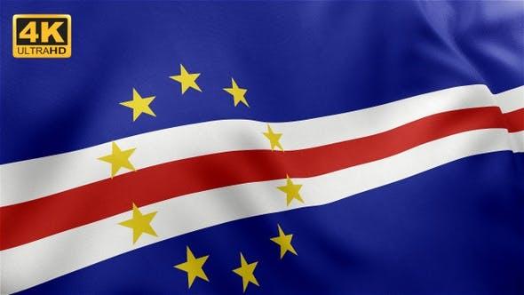 Thumbnail for Cape Verde Flag - 4K