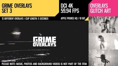 Grime Overlays (4K Set 3)