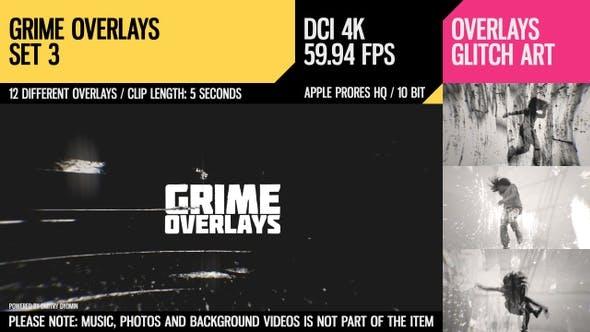 Thumbnail for Grime Overlays (4K Set 3)
