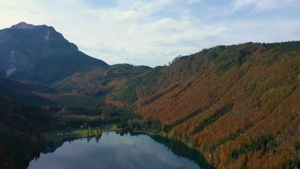 Thumbnail for Beautiful Austrian Autumn Lake 9