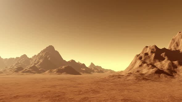 Thumbnail for Planet Mars Surface Animation