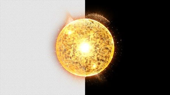 Thumbnail for Futuristic Nuclear Fusion Particles Simulation