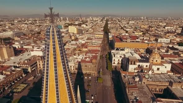 Thumbnail for Guadalajara Cathedral. Museum of Sacred Art. Aerial