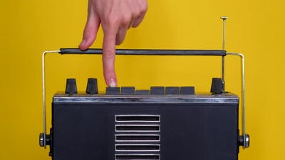 Finger Push the Button