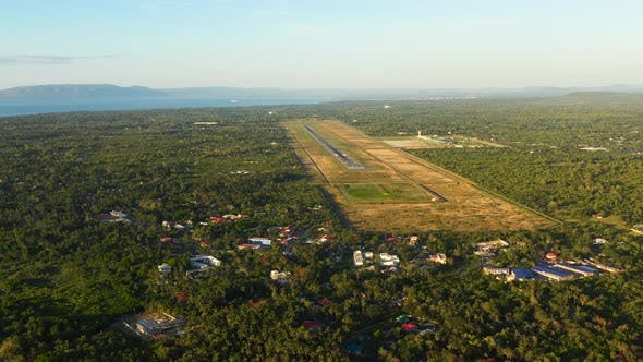 Panglao International Airport. Philippines.