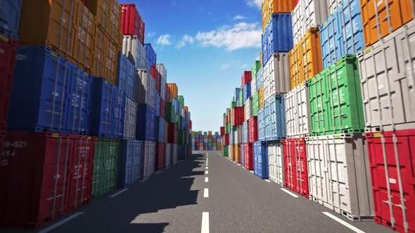Thumbnail for Frachtcontainer Hafen
