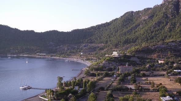 Thumbnail for Faszinierende Morgensicht Vom Berg Nach Amos Bay Türkei