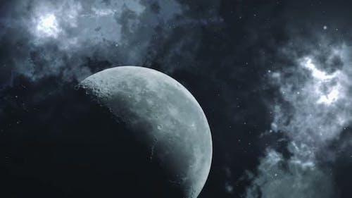 Moon In Cosmos