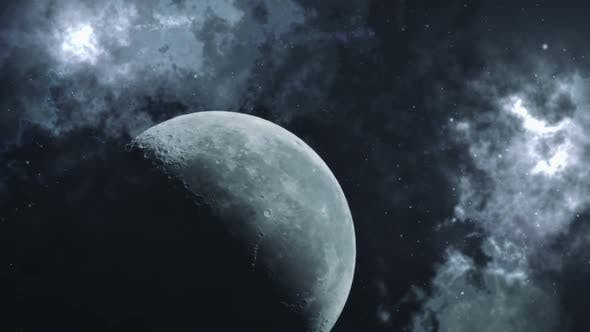 Moon In Cosmos