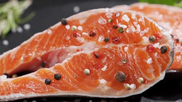 Cover Image for Chef Preparing a Delicious Plate of Salmon
