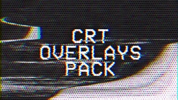 CRT Overlays Pack
