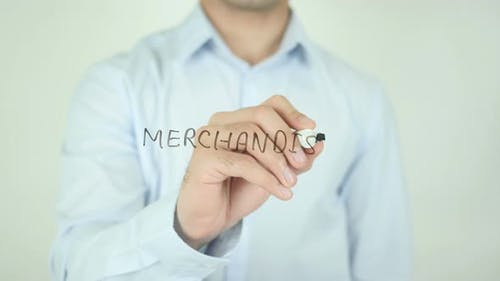 Merchandise�, Writing On Screen