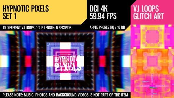 Thumbnail for Hypnotic Pixels (4K Set 1)