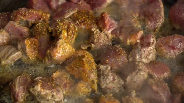 Cover Image for Cooking Meat On A Frying Pan 2