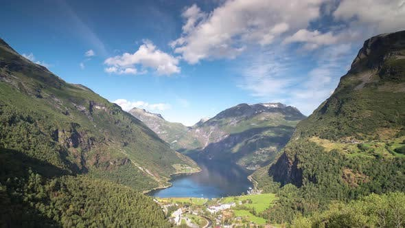 Thumbnail for Geiranger fjord norway lake nature