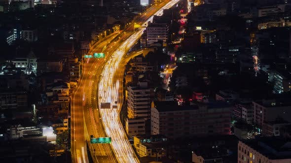 Thumbnail for Time Lapse Highway in  Bangkok Thailand