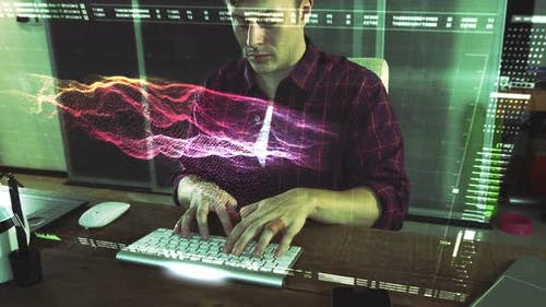 Cyber Security Computer Hacker
