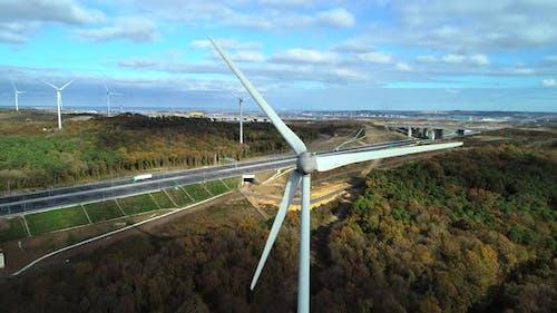 Roadside Windmills