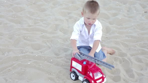 Thumbnail for The Boy Played with a Machine on the Beach