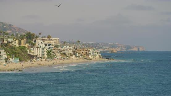 The shore of Laguna Beach