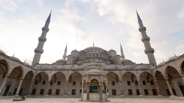 Thumbnail for Blue Mosque courtyard
