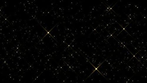Goldene Teilchen Overlay