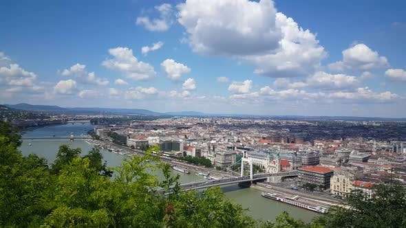 Thumbnail for Skyline of Budapest from Gellért Hill