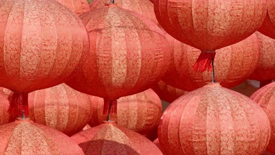 Thumbnail for Beautiful Red Lantern for Lunar New Year