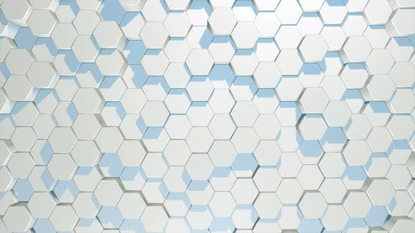 Thumbnail for Moving Hexagons in Random Order