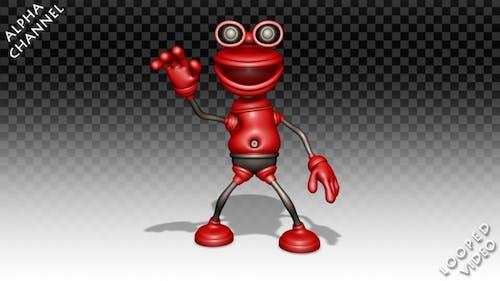 Comic Rubber Plunger - Dance Hip-Hop