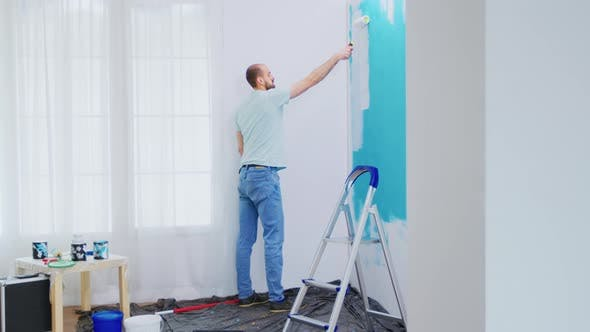 Painting Apartment Wall