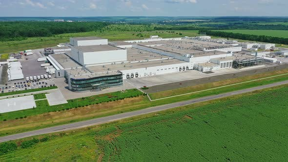 Innovative factory in the countryside