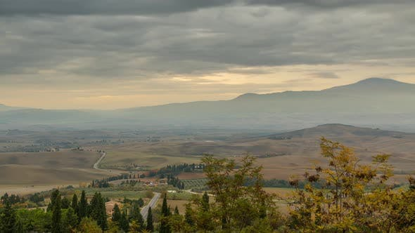 Thumbnail for Cloudy Morning over Tuscany