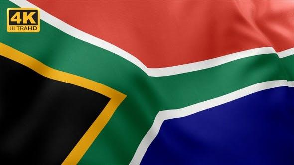 Thumbnail for Flag of South Africa - 4K