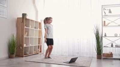 Teenager Sport Online Training Healthy Lifestyle