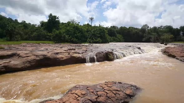 Thumbnail for Stream at the Farako falls in Mali