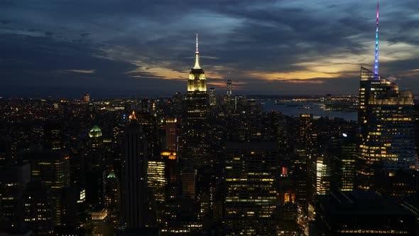 Thumbnail for New York City Sunset