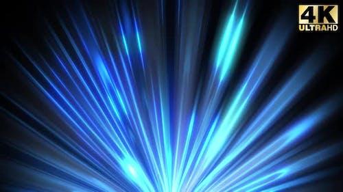 Blue Rays Lights Beam