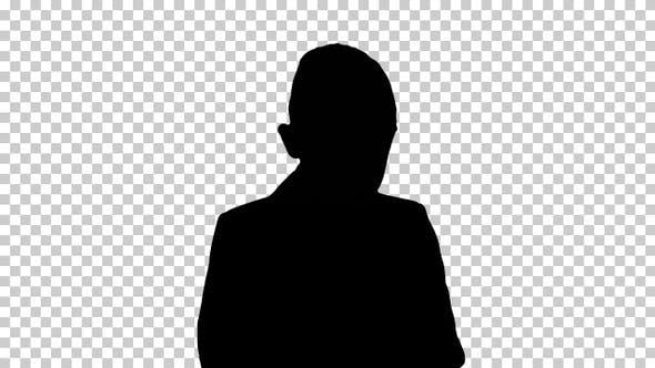 Silhouette boy