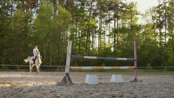 Thumbnail for Show Jumping From Young Women