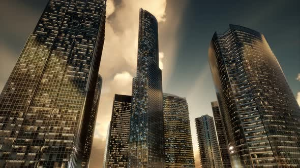 Thumbnail for Skyscrapers or Modern Buildings in the City