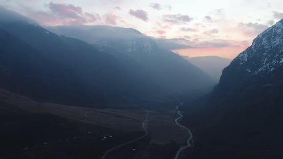 Thumbnail for Maipo Canyon Chile Aerial Landscape Andes Mountains