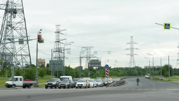 Thumbnail for Timelapse of Automobile Traffic in the City