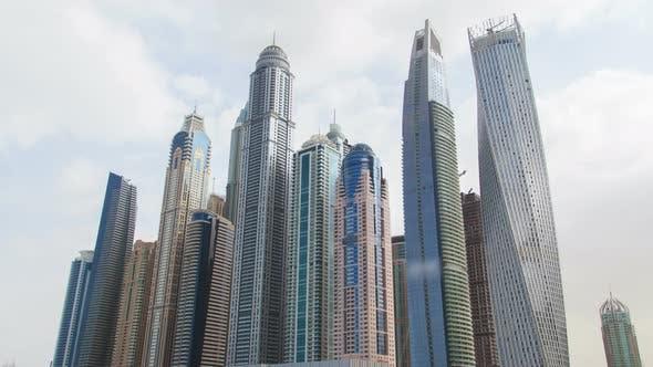 Thumbnail for Dubai Marina Towers Hyperlapse