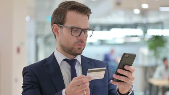 Thumbnail for Online Payment Failure on Smartphone By Businessman