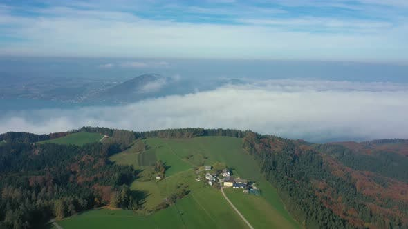 Thumbnail for Wide Valley Covered With Clouds 6