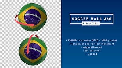 Soccer Ball 360º - Brazil