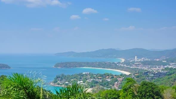 Thumbnail for Kata and Karon Beaches, Phuket, Zoom Timelapse