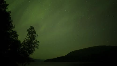 Aurora borealis northern lights norway arctic sky stars