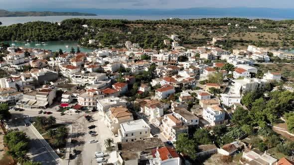 Thumbnail for Aerial Shot of Porto Heli